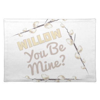 Willow Be Mine Cloth Placemat