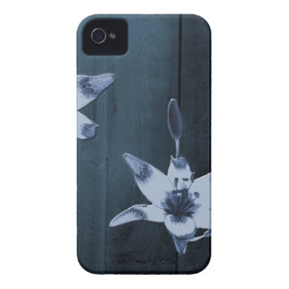 Willow Blue Flower iPhone 4 Case-Mate Case