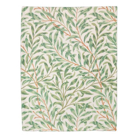 Willow Bough by William Morris Duvet Cover