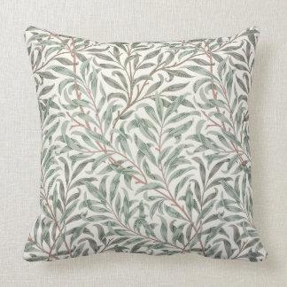 Willow Bough, wallpaper design, 1874 (wallpaper) Throw Pillow