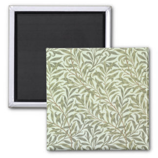 'Willow Bough' wallpaper design, 1887 2 Inch Square Magnet