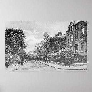 Willow Bridge Road, Canonbury, Islington, c.1905 Poster