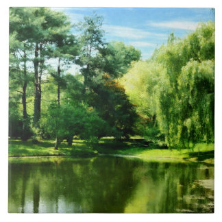 Willow By the Lake Ceramic Tiles
