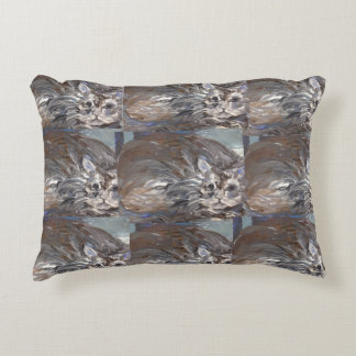 Willow cat Paintings Pillow