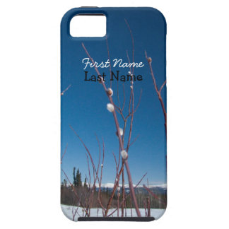 Willow Catkin Portrait; Customizable iPhone 5 Cover