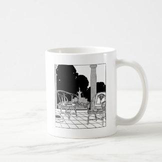 Willow Chairs on the Terrace Coffee Mug