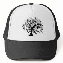 Willow Creek Academy Wispy Tree Logo Trucker Hat