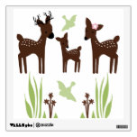 Willow Deer Family Wall Decal