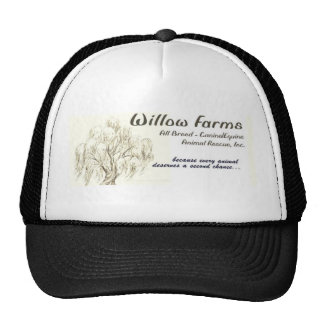 Willow Farms Rescue Baseball Cap Trucker Hat
