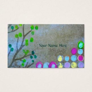 Willow & Fingerprints Business Card