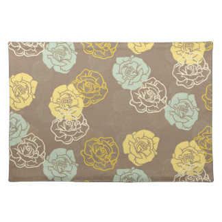 Willow Floral Cloth Placemat