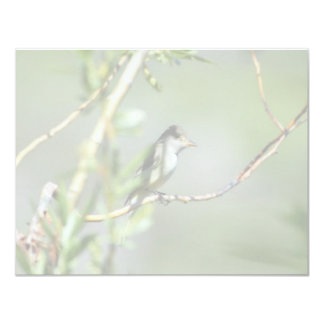 Willow Flycatcher 4.25x5.5 Paper Invitation Card
