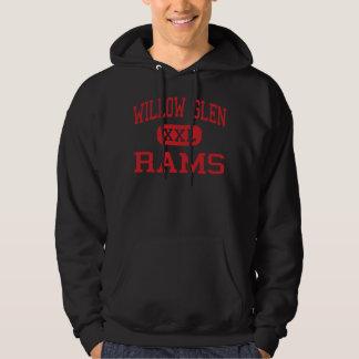Willow Glen - Rams - High - San Jose California Hoodie