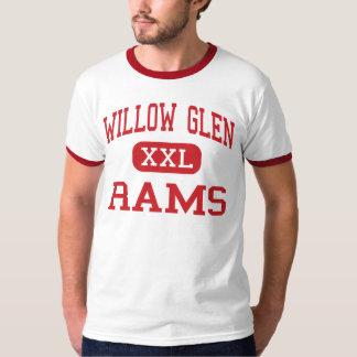 Willow Glen - Rams - High - San Jose California T-shirts