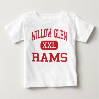 Willow Glen - Rams - High - San Jose California Tee Shirt