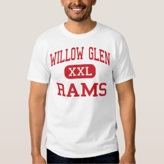 Willow Glen - Rams - High - San Jose California Tshirts