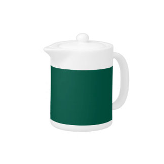 WILLOW GREEN (solid color) ~ Teapot