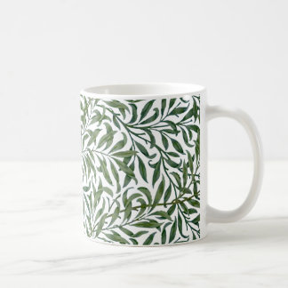 Willow Leaves by William Morris Classic White Coffee Mug
