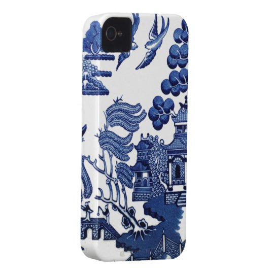 Willow pattern iPhone 4 case