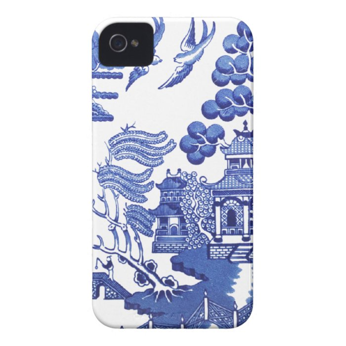 Willow pattern iPhone 4 cover