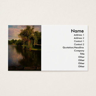 Willow @ Pond Business Card