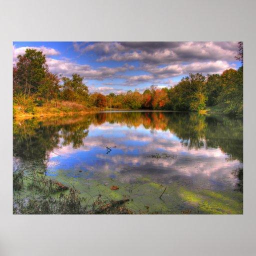 Willow Pond Cherokee Park Print Zazzle