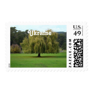 Willow Postage Stamp
