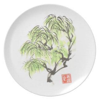 Willow Tree Art Plate