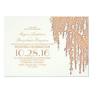 Superior Willow Tree Elegant Outdoor Wedding Invitations