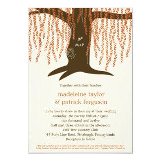 Willow Tree Fall Wedding Invitation