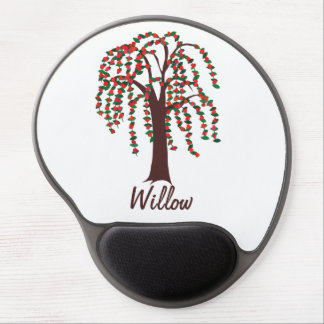 Willow Tree with Hearts - Customizable Gel Mouse Pad