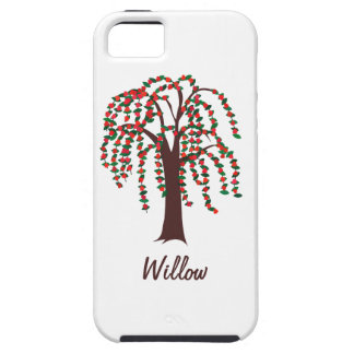 Willow Tree with Hearts - Customizable iPhone 5 Cases