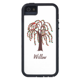 Willow Tree with Hearts - Customizable iPhone 5 Cover