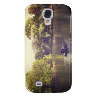 Willow Trees and The Lake, Central Park, NYC Samsung Galaxy S4 Case