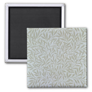 Willow wallpaper design, 1874 2 inch square magnet