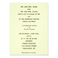 Willows at Sunset by Vincent van Gogh. Custom Invites