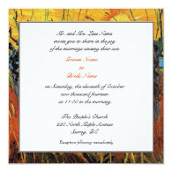Willows at Sunset by Vincent van Gogh. Personalized Invitations