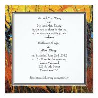 Willows at Sunset by Vincent van Gogh. Personalized Invites