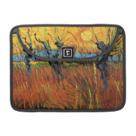 Willows at Sunset by Vincent van Gogh. MacBook Pro Sleeves