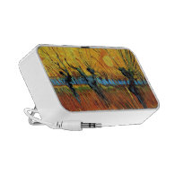 Willows at Sunset by Vincent van Gogh iPhone Speaker