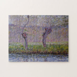 Willows in Springtime Monet Fine Art Puzzle