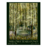 Willows' Tears Pond Print