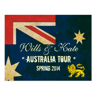 Wills and Kate 2014 Australia Tour Post Cards