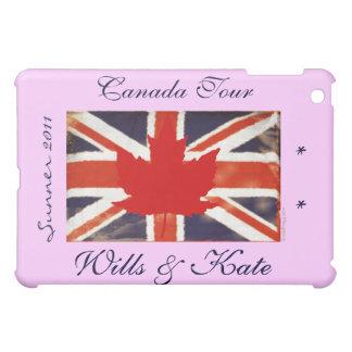 Wills and Kate CANADA (Pink) iPad Mini Covers