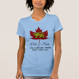 Wills and Kate CANADA Tour Commemorative T-Shirt