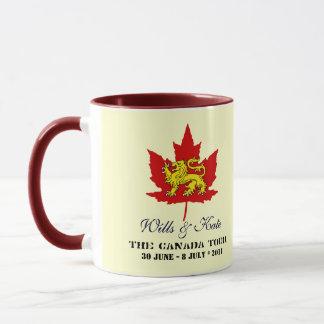 Wills and Kate CANADA Tour Mug