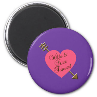 Wills and Kate Forever! Products 2 Inch Round Magnet