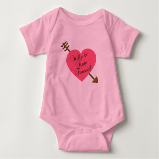 Wills and Kate Forever! Products Baby Bodysuit