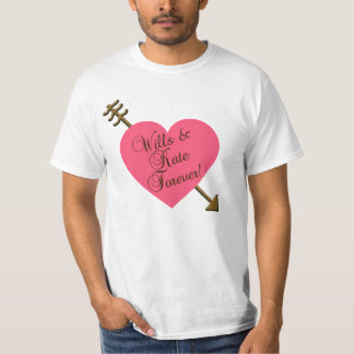 Wills and Kate Forever! Products T-Shirt