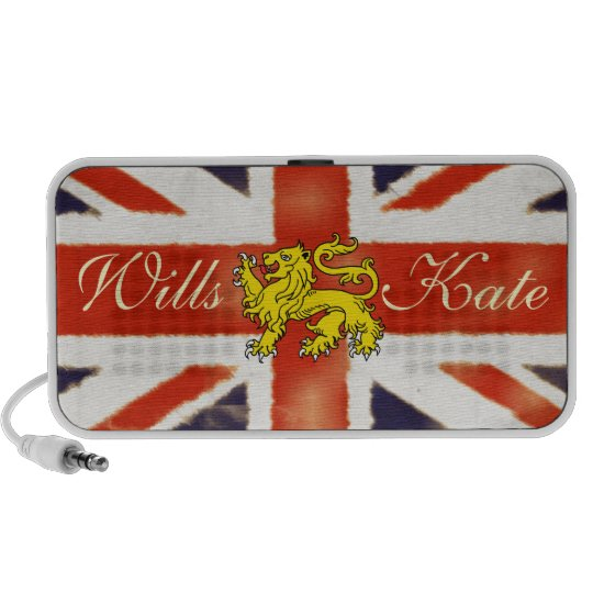Wills and Kate Heraldry Lion Doodle Speaker